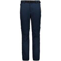 Kleidung Herren Jogginghosen Cmp Sport MAN ZIP OFF PANT 3T51647 18NG blau