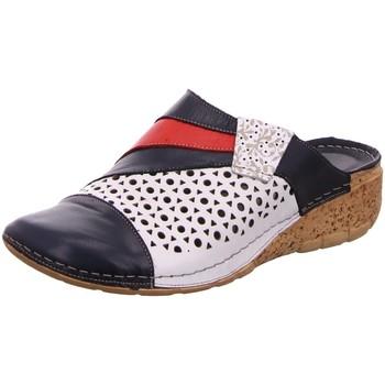 Schuhe Damen Pantoletten / Clogs Gemini Pantoletten 032463 03246302815 blau