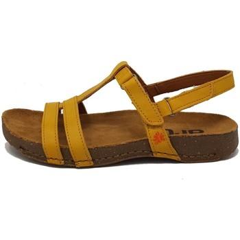 Schuhe Damen Sandalen / Sandaletten Art Sandaletten Grass Waxed 0946 gelb