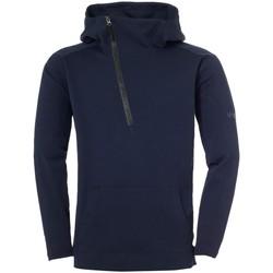 Kleidung Herren Pullover Uhlsport Sport Essential Pro 1/2 Zip Hoodie 1005061-12 blau