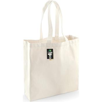 Taschen Shopper / Einkaufstasche Westford Mill W623 Natur
