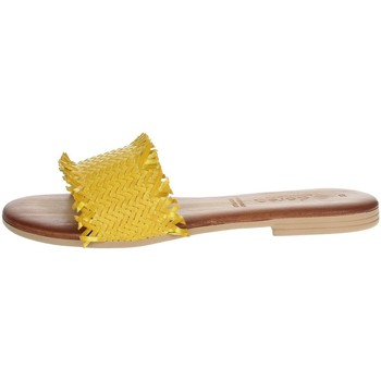 Schuhe Damen Pantoffel Dorea MH101 Gelb