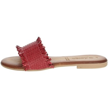 Schuhe Damen Pantoffel Dorea MH101 Rot