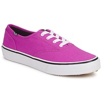 Schuhe Damen Sneaker Low Keds DOUBLE DUTCH SEASONAL SOLIDS Rose