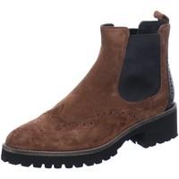 Schuhe Damen Low Boots Donna Carolina Stiefeletten 34.673.114 34.673.114 braun