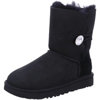 Schuhe Damen Schneestiefel UGG Stiefeletten baily button bling 1016553 schwarz