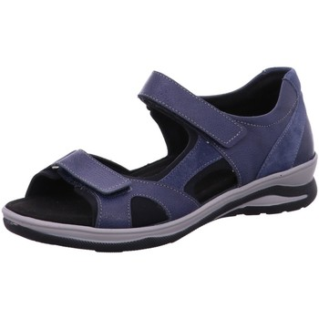 Schuhe Damen Wanderschuhe Fidelio Sandaletten Hilly navy 496023 39 blau