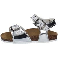 Schuhe Mädchen Sandalen / Sandaletten Biochic 44101R SILBER