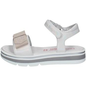 Schuhe Mädchen Sandalen / Sandaletten Laura Biagiotti 7180 WEISS