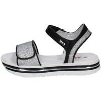 Schuhe Mädchen Sandalen / Sandaletten Asso AG-10600 SILBER