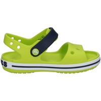 Schuhe Jungen Sandalen / Sandaletten Crocs 12856 LIMETTE