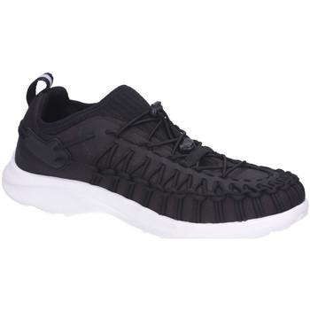 Schuhe Herren Sneaker Low Keen Schnuerschuhe Uneek SNK Black/Star White 1023498 schwarz