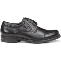 Schuhe Herren Derby-Schuhe Fluchos 8468 NATURAL SIMON STK SCHWARZ