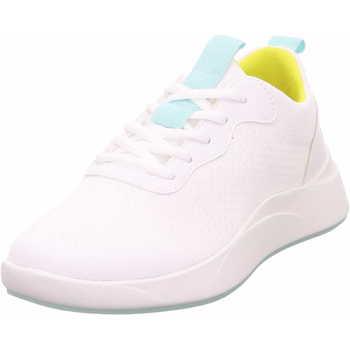 Schuhe Damen Sneaker Low Legero 2 009514 1000 Balloon Damen Sneaker Weiss Weiss