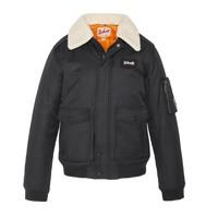 Kleidung Jungen Jacken Schott AIRWAY Schwarz
