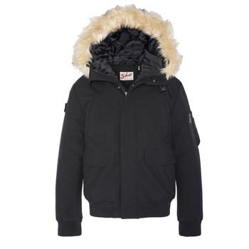 Kleidung Kinder Jacken Schott WINTON Schwarz