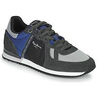 Schuhe Herren Sneaker Low Pepe jeans TINKER ZERO TAPE Grau / Blau
