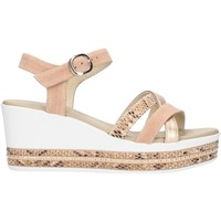 Schuhe Damen Sandalen / Sandaletten NeroGiardini E115780D Rose
