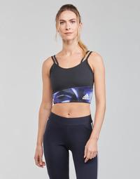 Kleidung Damen Sport BHs adidas Performance WUFORU Schwarz