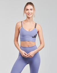 Kleidung Damen Sport BHs adidas Performance AMEBAR Violett / Orbite