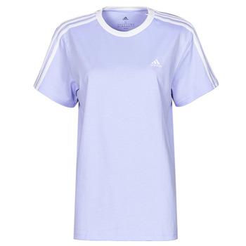 Kleidung Damen T-Shirts adidas Performance WESBEF Ton / Violett