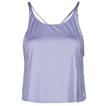 Kleidung Damen Tops adidas Performance YOGA CROP Violett / Orbite