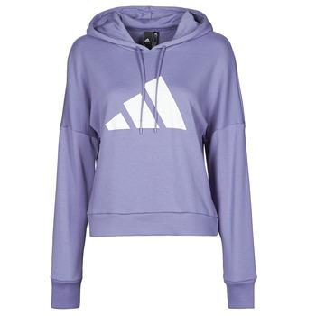 Kleidung Damen Sweatshirts adidas Performance WIFIEB HOODIE Violett / Orbite