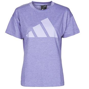 Kleidung Damen T-Shirts adidas Performance WEWINTEE Orbit / Violett