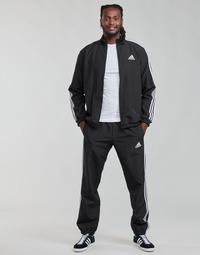 Kleidung Herren Jogginganzüge adidas Performance M 3S WV TT TS Schwarz