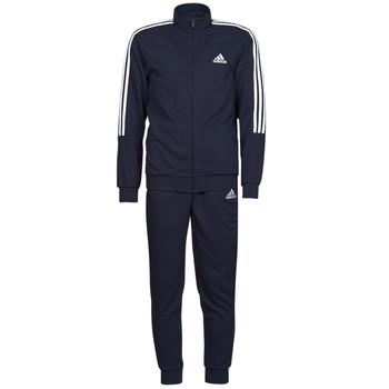 Kleidung Herren Jogginganzüge adidas Performance M 3S FT TT TS Blau