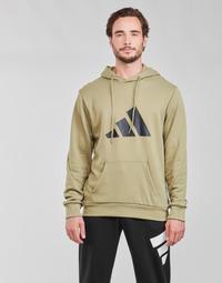 Kleidung Herren Sweatshirts adidas Performance M FI 3B HOODIE Grün