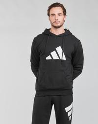 Kleidung Herren Sweatshirts adidas Performance M FI 3B HOODIE Schwarz