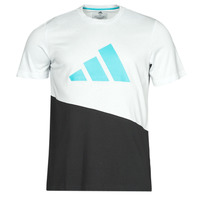 Kleidung Herren T-Shirts adidas Performance FUTURE BLK TEE Weiss