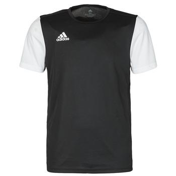 Kleidung Herren T-Shirts adidas Performance ESTRO 19 JSY Schwarz