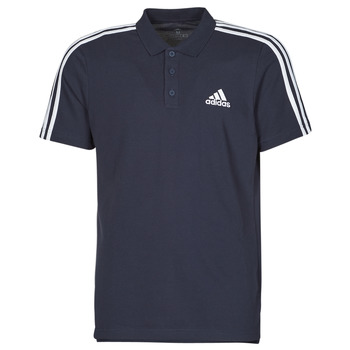 Kleidung Herren Polohemden adidas Performance M 3S PQ PS Blau