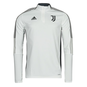 Kleidung Trainingsjacken adidas Performance JUVE TR TOP Weiss / Essentiel