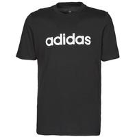 Kleidung Herren T-Shirts adidas Performance M LIN SJ T Schwarz