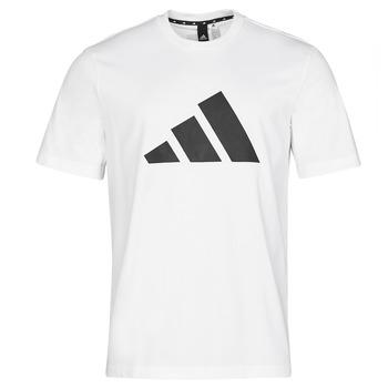 Kleidung Herren T-Shirts adidas Performance M FI 3B TEE Weiss