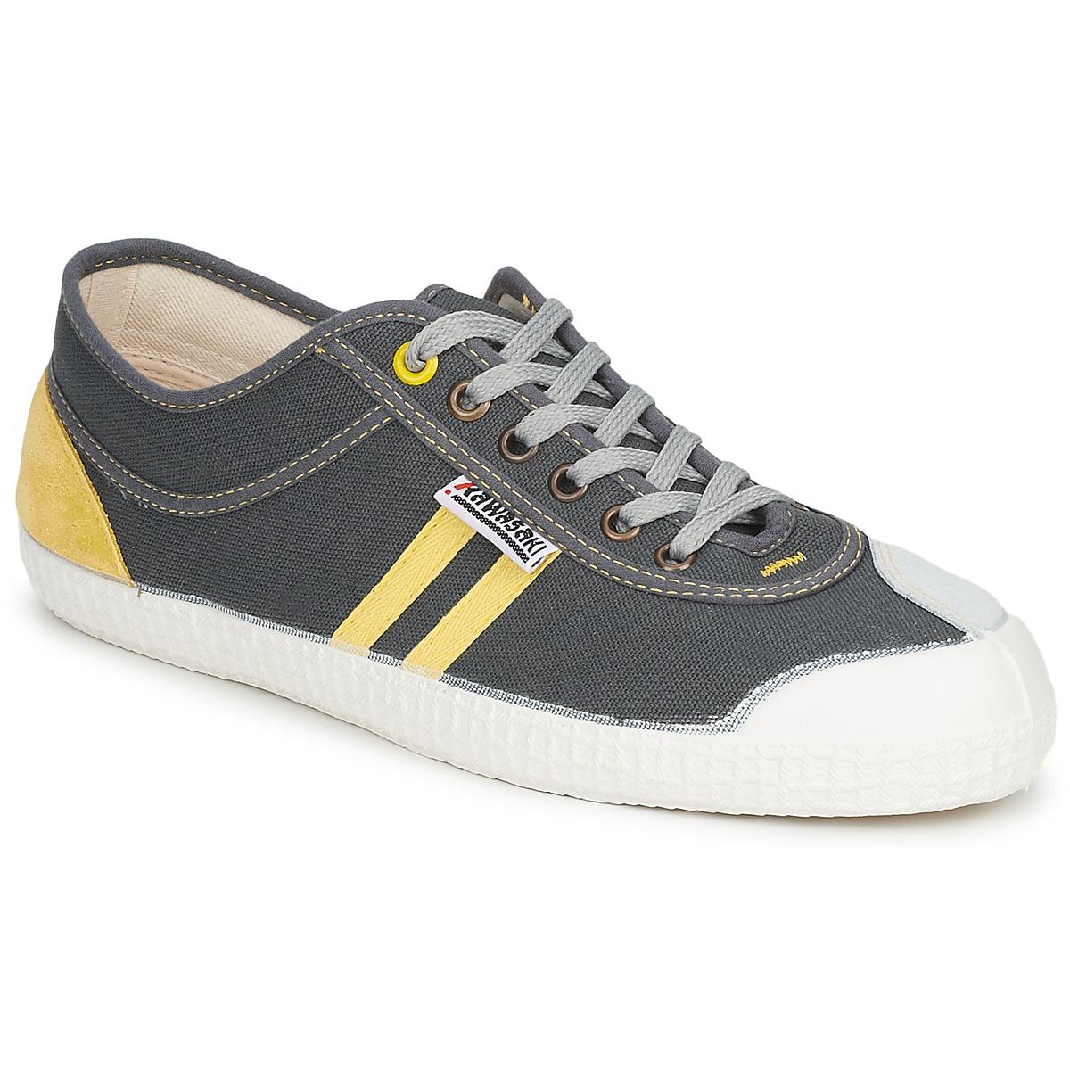 Kawasaki RETRO Grau / Gelb - Kostenloser Versand bei Spartoode ! - Schuhe Sneaker Low  32,50 €