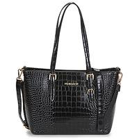 Taschen Damen Shopper / Einkaufstasche Nanucci 9530 Schwarz