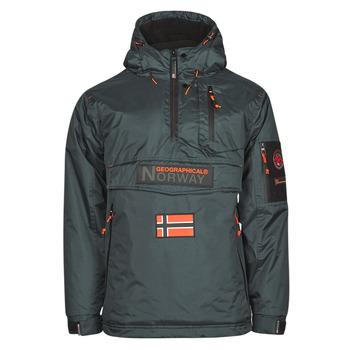 Kleidung Herren Parkas Geographical Norway BARKER Grau