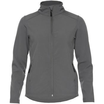 Kleidung Damen Jacken Gildan SS800L Anthrazit