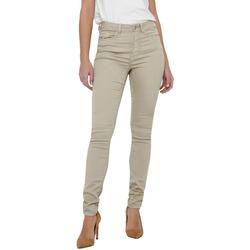 Kleidung Damen Slim Fit Jeans Jacqueline De Yong 15211785 Beige