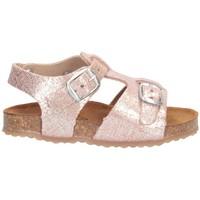 Schuhe Mädchen Sandalen / Sandaletten Plakton 865039 Sandalen Kind ROSE ROSE