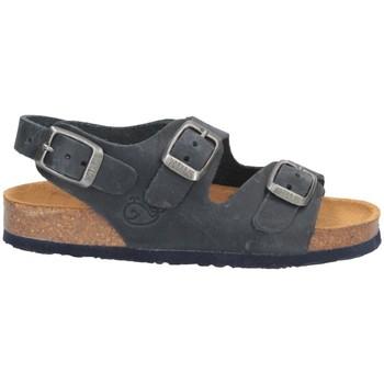 Schuhe Jungen Sandalen / Sandaletten Plakton 120046 Sandalen Kind BLAU BLAU