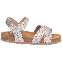 Schuhe Mädchen Sandalen / Sandaletten Plakton 865619 Sandalen Kind SILBER / ROSA SILBER / ROSA
