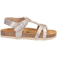 Schuhe Mädchen Sandalen / Sandaletten Plakton 135384 Sandalen Kind SILBER SILBER