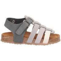 Schuhe Jungen Sandalen / Sandaletten Plakton 855381 Sandalen Kind GRAU GRAU