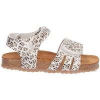 Schuhe Mädchen Sandalen / Sandaletten Plakton 865517 Sandalen Kind SILBER SILBER