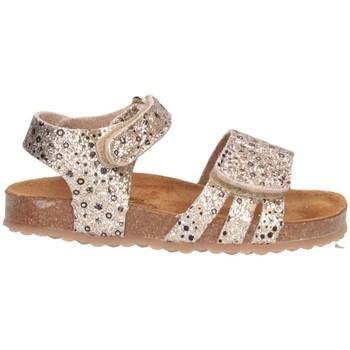 Schuhe Mädchen Sandalen / Sandaletten Plakton 865517 Sandalen Kind GOLD GOLD